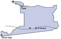 Map of the 40th Senate District Office locations